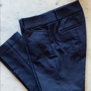 NWOT LOFT Marisa Skinny Navy Dress Pants